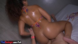 Big Booty Amateur Latina Hottie Gets Her Pussy And Ass Fucked
