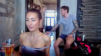Kinky Threesome Fucking On Cam