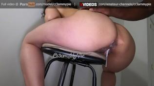 Amateur Latina interracial creampie by BBC