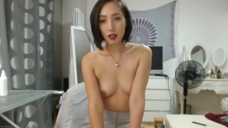 Horny Asian Webcam JOI While Solo In Pussy Masturbation