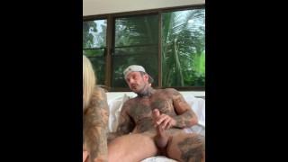 Horny Tattooed Cam Couple Nude Fuck