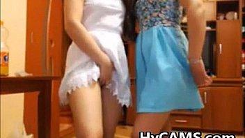 Lesbian Teens Anal Dildo Stuffing Hotties At Play