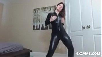 Fetish Webcam Latex Catsuit Stripshow