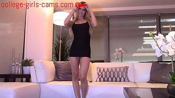 Hot Horny MILF Sex Cam Riding Dildo