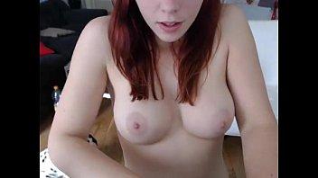 Big Boobs Amateur Redhead Pussy Fucked On Cam