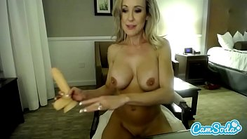 Sexy Pornstar Blonde Brandi Love Deep Throating And Pussy Fucking Dildo