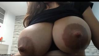 Big Tits Cam Sex Lactating MILF