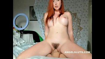 Naughty Redhead Cam Sex Dildo Fuck
