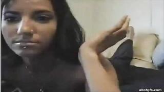 Busty Hot Cam Girl Pussy Tease Fun